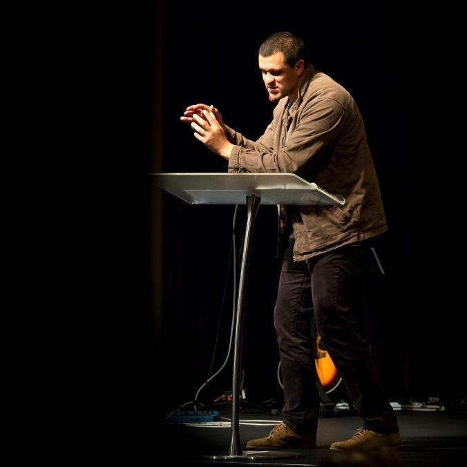 Shane Dirks Preaching