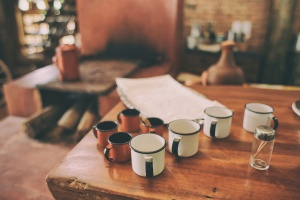 Coffee and Bible Reading