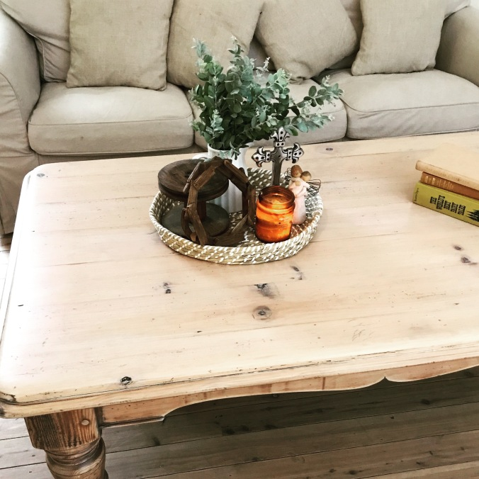 Coffee Table Vignette